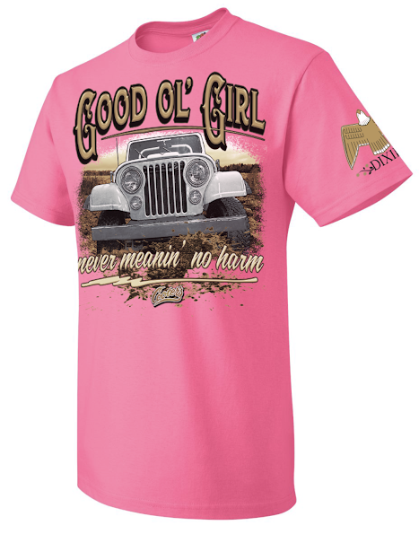 Youth Cooter's Good Ol' Girl Jeep T-Shirt