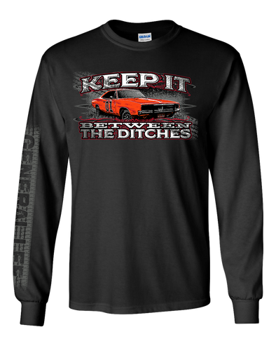 Youth Cooter's Keep it Between the Ditches Long Sleeve T-Shirt