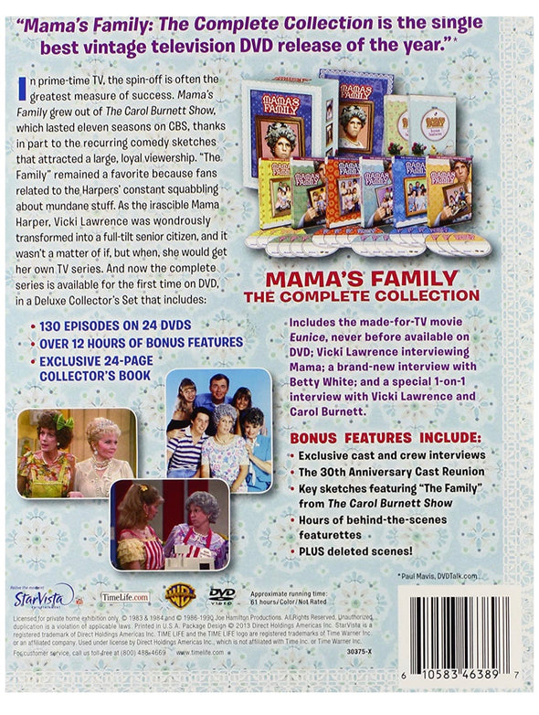 Mama's Family: The Complete Collection DVD