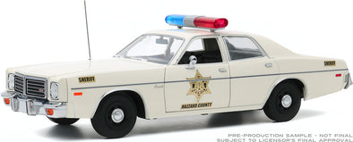 JANUARY PRE-ORDERS ONLY 1:18 Artisan Collection - 1975 Dodge Coronet - Hazzard County Sheriff