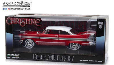 OCT 2020 PRE-ORDERS ONLY  1:24 Christine (1983) - 1958 Plymouth Fury