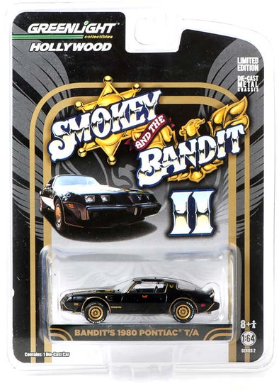 1:64 Smokey and the Bandit II (1980) - 1980 Pontiac Trans Am Solid Pack