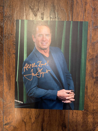 Autographed Tom Wopat Photo (8x10) Lamp