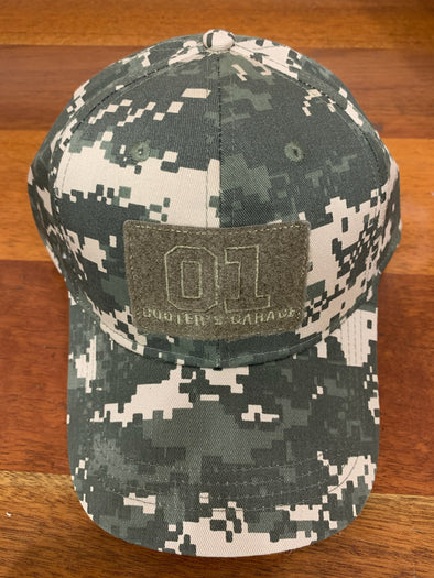 Cooter's Garage Velcro Camo Adjustable Hat