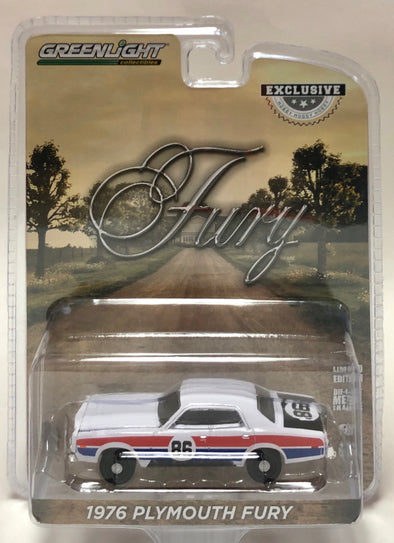 A.S.S NEU GreenLight 1//64 Plymouth Fury Hazzard County Road Rally #86 Exclusive