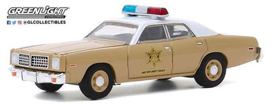 OCTOBER PRE-ORDERS ONLY 1:24 1975 Dodge Coronet - Choctaw County Sheriff