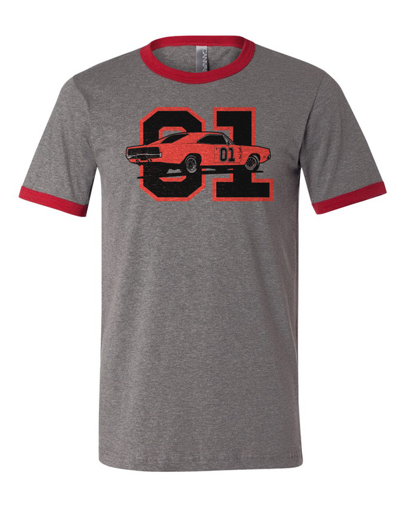 Cooter's General Lee 01 Ringer Tee