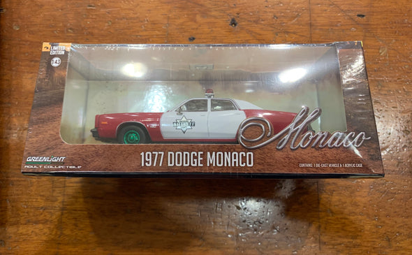 GREENIE 1:43 Scale 1977 Dodge Monaco Finchburg County Sheriff