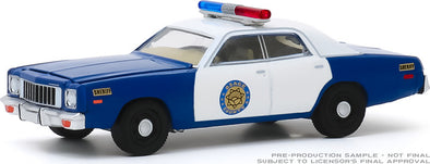Coming Soon! 1:64 Scale 1975 Plymouth Fury Osage County Sheriff (Hobby Exclusive)