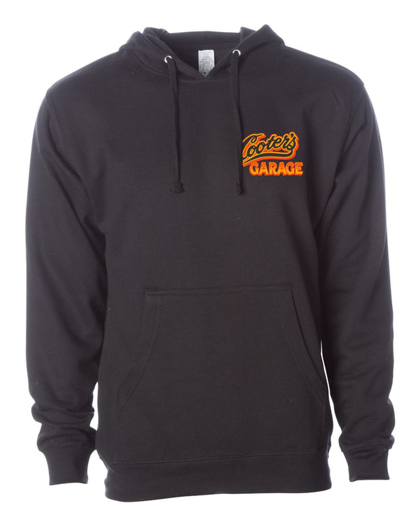 Cooter's Cars of Hazzard Hooded Pullover Sweatshirt