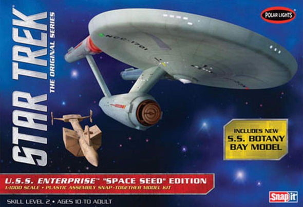 1:1000 Star Trek TOS U.S.S. Enterprise Space Seed Ed (Model Kit)