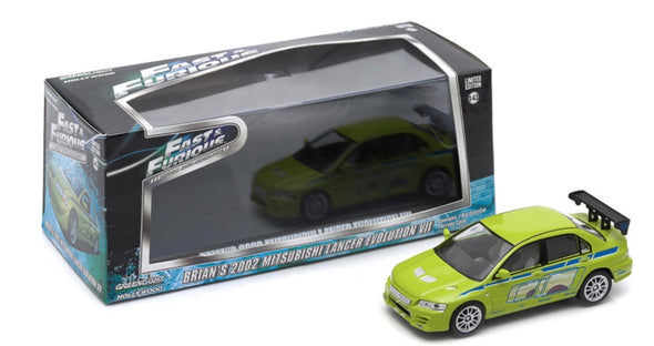 1:43 Fast & Furious - 2 Fast 2 Furious (2003) - 2002 Mitsubishi Lancer Evolution VII