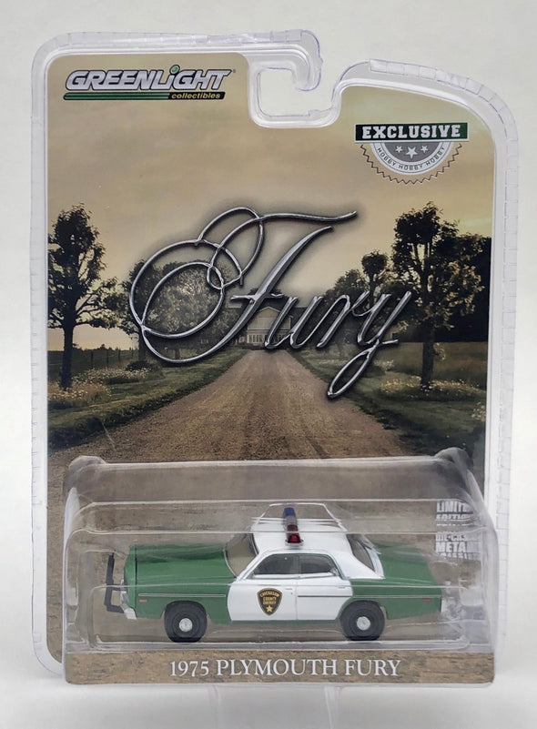 "1:64 Scale ""Sheriff Little's"" 1975 Plymouth Fury Chickasaw County Sheriff"