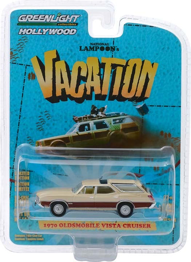 1:64 National Lampoon's Vacation (1983) - 1970 Oldsmobile Vista Cruiser