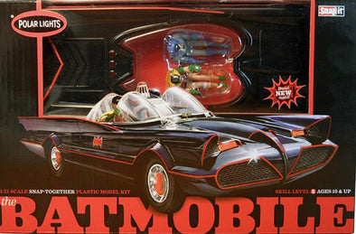 1966 Batman Classic TV Series Batmobile (Snap Model Kit)