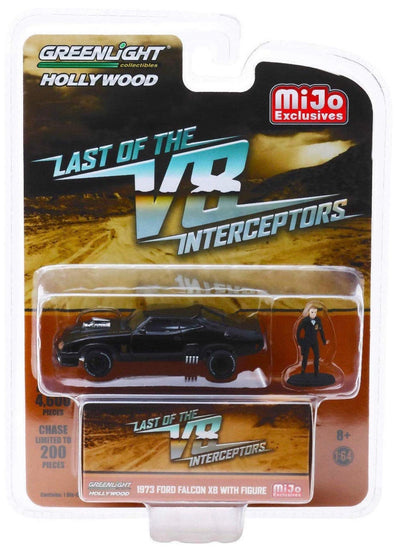 1:64 Hollywood - The Last of The V8 INTERCEPTORS - 1973 Ford Falcon XB with Figure - MIJO Exclusives