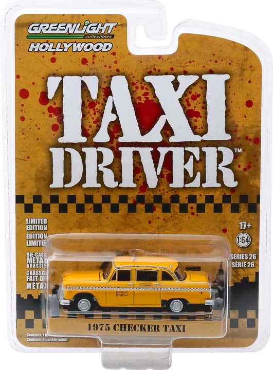 1:64 Taxi Driver (1976) - Travis Bickle's 1975 Checker Taxicab