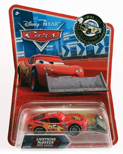 1:55 Cars Lightning McQueen w/Shovel