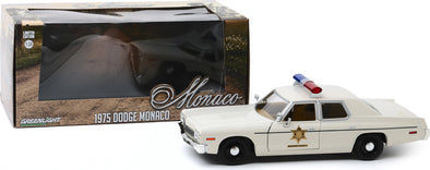 1:43 Hazzard County Sheriff Car - 1975 Dodge Monaco