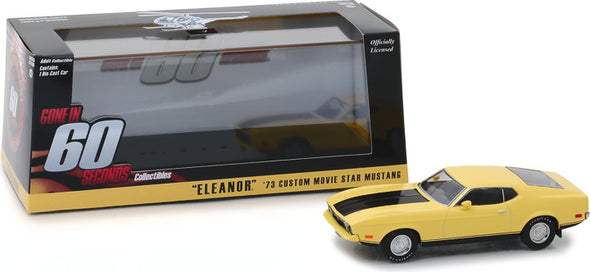 "1:43 Gone in Sixty Seconds (1974) - 1973 Ford Mustang Mach 1 ""Eleanor"""