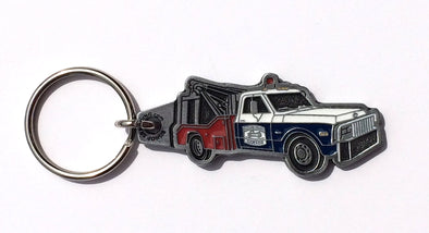 Metal Keychain Cooter's Tow Truck