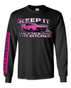 Ladies Cooter's Keep It Between the Ditches Long Sleeve T-Shirt