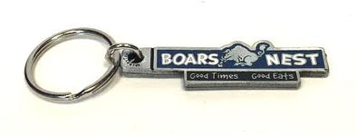 Metal Keychain Boars Nest