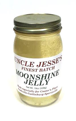 Sauces Uncle Jesse Moonshine Jelly