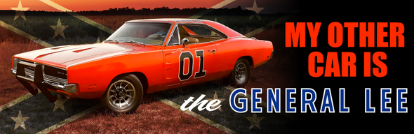 Sticker My Other Car Is The General Lee