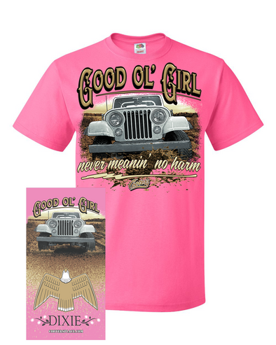 Gaiter & Tee COMBO Good Ol' Girl Dixie T-Shirt