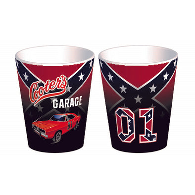Cooter's Rebel General Lee Shot Glass