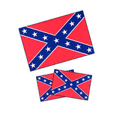 Temp Tattoo Confederate Flag