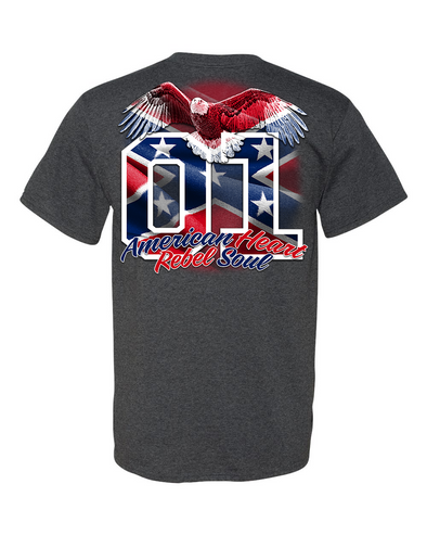 Cooter's Confederate Eagle 01 T-Shirt