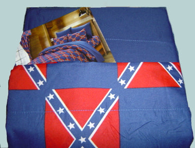 Confederate Flag Bedroom Sheets Set