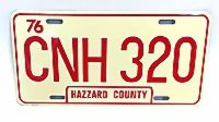 CNH 320 License Plate