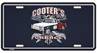 Cooter's Garage with Tow Truck License Plate