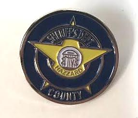 Hazzard County Sheriff Department Hat Pin