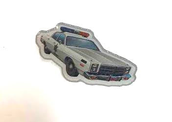 Sheriff Patrol Car Hat Pin