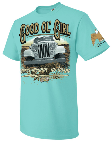 Cooter's Good Ol' Girl Jeep T-Shirt