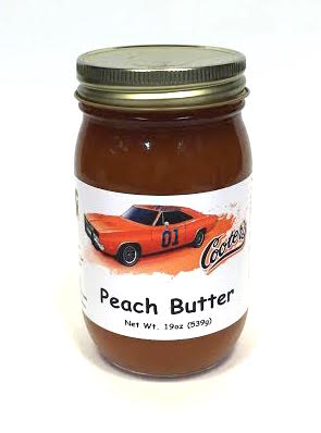 Sauces Cooter's Peach Butter