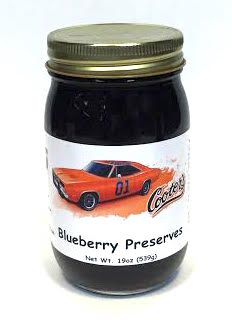 Sauces Cooter's Blueberry Preserves