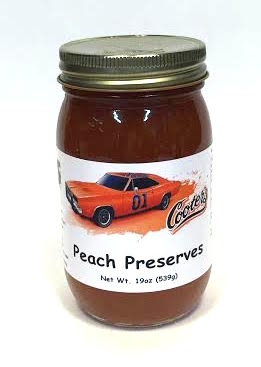 Sauces Cooter's Peach Preserves