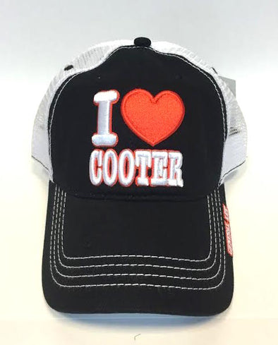 I Heart Cooter Trucker Hat
