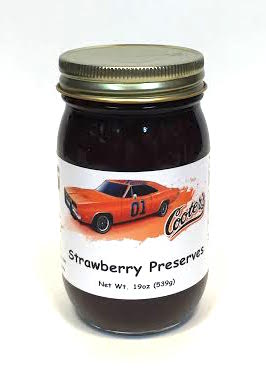 Sauces Cooter's Strawberry Preserves