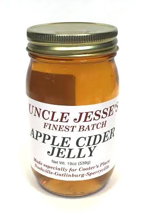 Sauces Cooter's Uncle Jesse Apple Cider Jelly