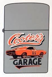 Cooter's Garage General Lee Flip Top Lighter
