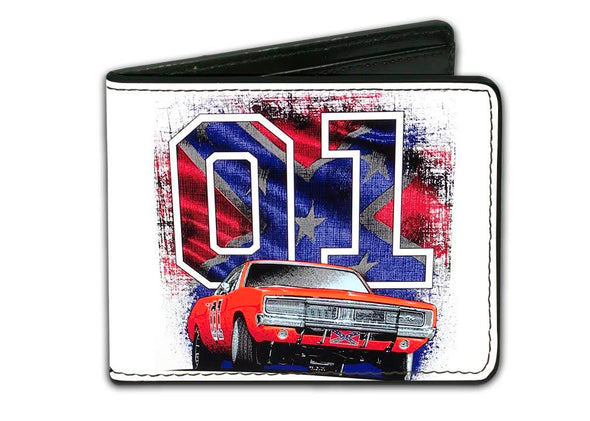 "Cooter's ""General Lee W/ Rebel Flag 01"" Wallet"