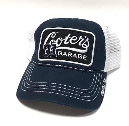 Cooter's Garage Patch Trucker Hat (Navy)