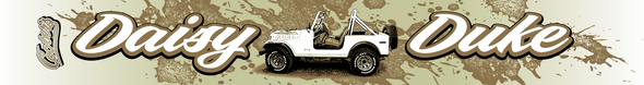 Daisy Duke Jeep Pencil