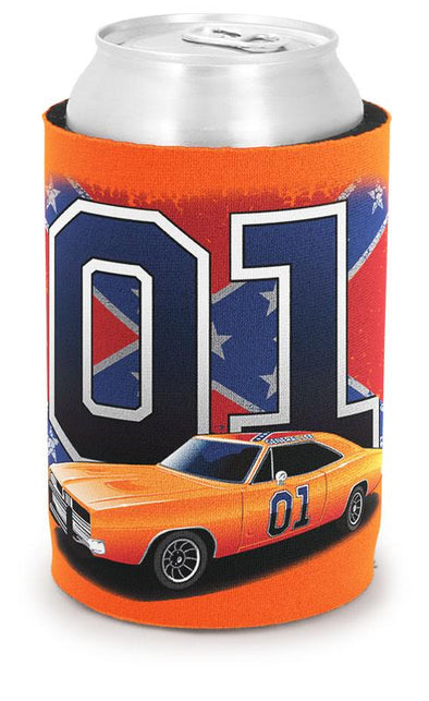 Can Coolie 01 General Lee with Confederate Flag